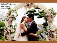 Bán cổng đám cưới hoa giả