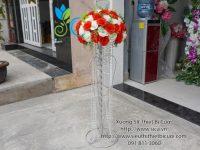 Chân hoa đính pha lê đẹp giá rẻ