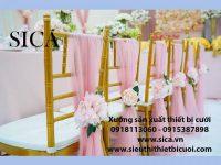 Ghế và màng rèm trang trí giá rẻ