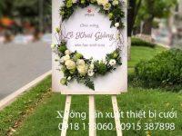 Bảng tên kết hoa giá rẻ