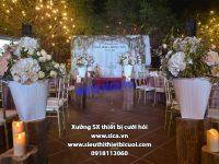 Cung cấp những mẫu trang trí không gian tiệc cưới đẹp