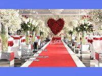 Nơi cung cấp trụ hoa lối đi trang trí sân khấu đẹp
