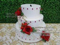 Trang trí bánh kem đám cưới giá rẻ