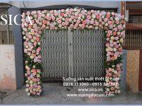 Cung cấp thiết kế mẫu cổng hoa đẹp rẻ
