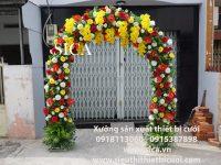 Cổng cưới hoa lan đẹp