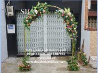 Mẫu cổng hoa mới nhất tại xưởng đồ cưới