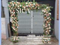 Cổng cưới khung hộp kết hoa giá rẻ