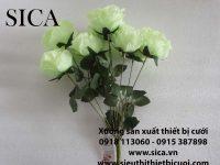 Mẫu hoa hồng màu xanh hàng hà nội