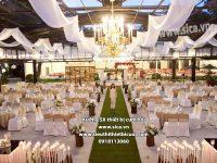 Nơi cung cấp các mẫu thiết kế tiệc cưới đẹp