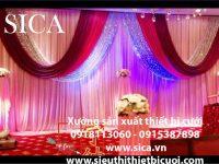 Chuyên cung cấp các mẫu trang trí tiệc cưới giá rẻ