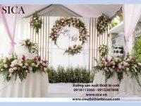 Nơi cung cấp các mẫu backgound trang trí tiệc cưới đẹp