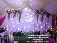 Báo giá các mẫu không gian tiệc cưới giá rẻ