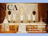 Tìm nơi trang trí tiệc cưới đẹp nhất sài gòn