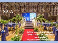 Xưởng hoa SiCa chuyên cung cấp các mẫu thiết kế tiệc cưới đẹp