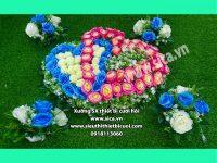 Mẫu hoa trang trí xe rước dâu đẹp rẻ