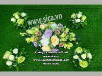 Cung cấp các mẫu hoa trang trí xe cô dâu mới nhất giá rẻ