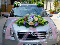 Trang trí xe hoa rước dâu đẹp nhất
