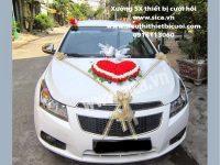 Nơi bán hoa trang trí xe hơi đám cưới