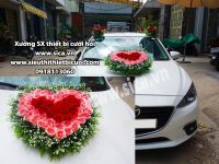 Kết hoa trái tim cho xe hơi giá rẻ