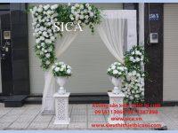 Nơi trưng bày cổng hoa mới nhất
