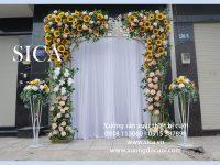 Cổng hoa cưới mẫu mới nhất đẹp nhất