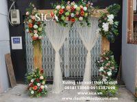 Nơi bán cổng cưới khung gỗ giá rẻ
